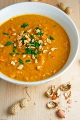 Sweet Potato and Peanut Soup 3 500